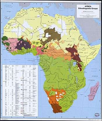map of languages spoken in africa Languages Of Africa map of languages spoken in africa